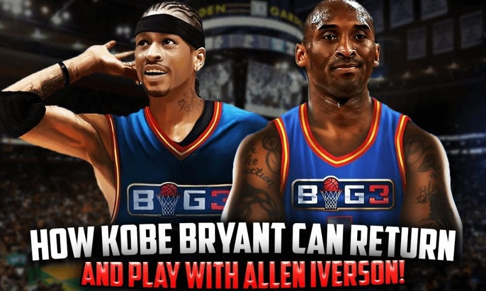 How Kobe Bryant Could Make A Return To Basketball With The BIG3 League