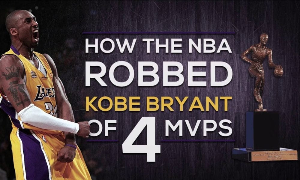 How Kobe Bryant Was Robbed Of Four MVPs By The NBA