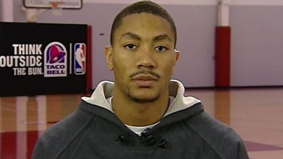 Derrick Rose Filmed A Video To Convince LeBron and Wade To Join Bulls in 2010