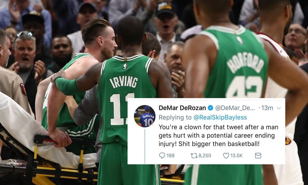 NBA World Reacts To Gordon Hayward's Injury