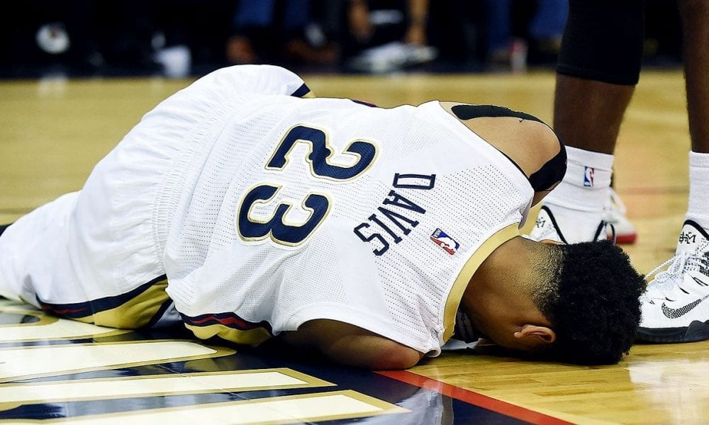 Anthony Davis And His Truly Unfathomable Injury History