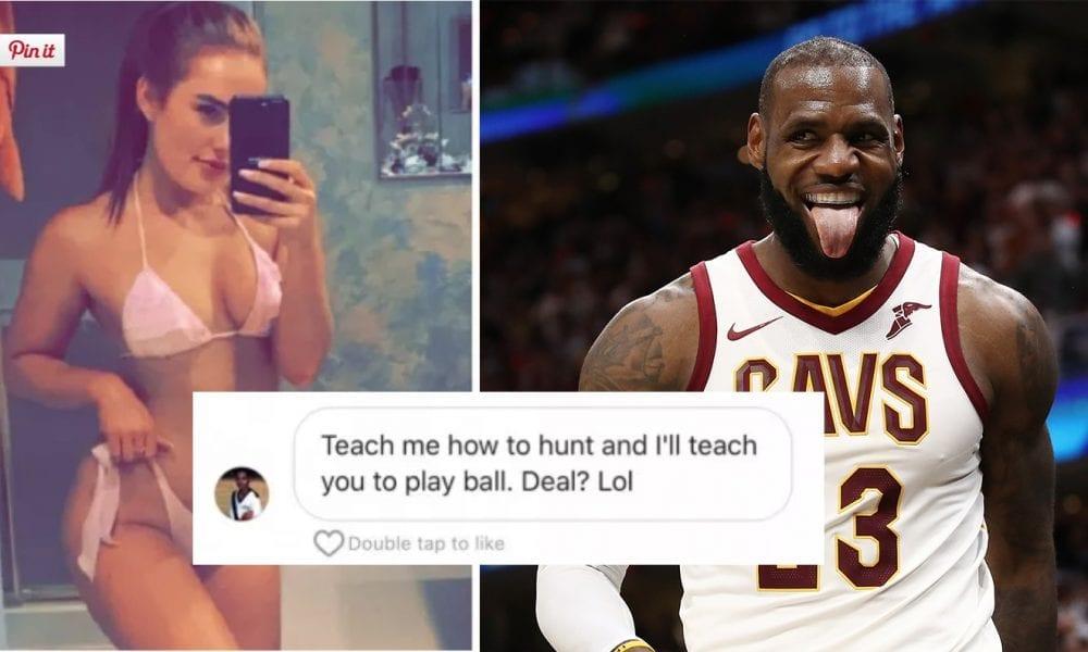 LeBron James Just Got Exposed Sliding Into Instagram Model's DMs