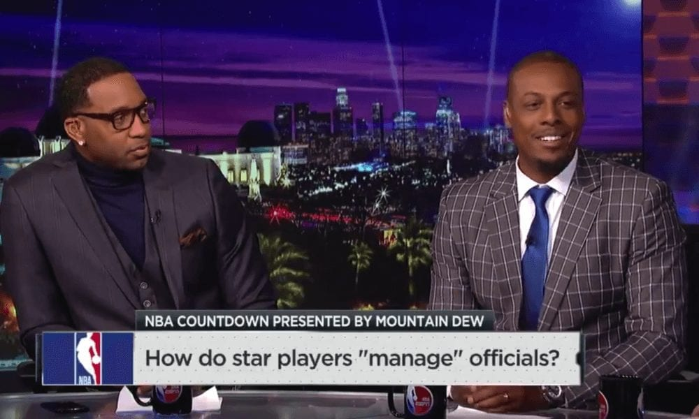 Paul Pierce And The NBA's Referees Are Hilariously Trading Blows