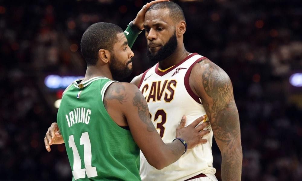 Kyrie Irving Says Cleveland Cavaliers Didn't Want Him, LeBron James Fires Back
