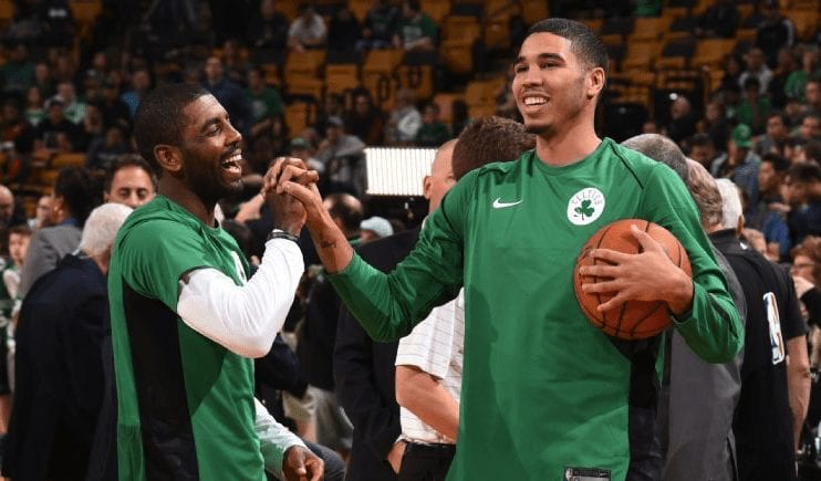 Kyrie Irving's 'Brother-Brother Relationship' With Jayson Tatum