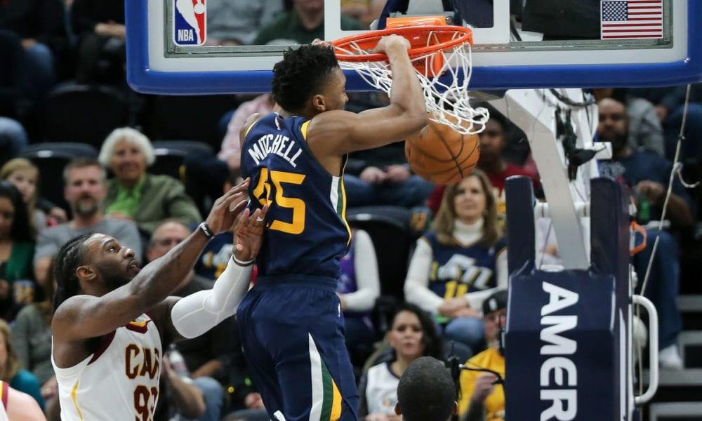 It's Time To Get Excited About Donovan Mitchell In The Dunk Contest