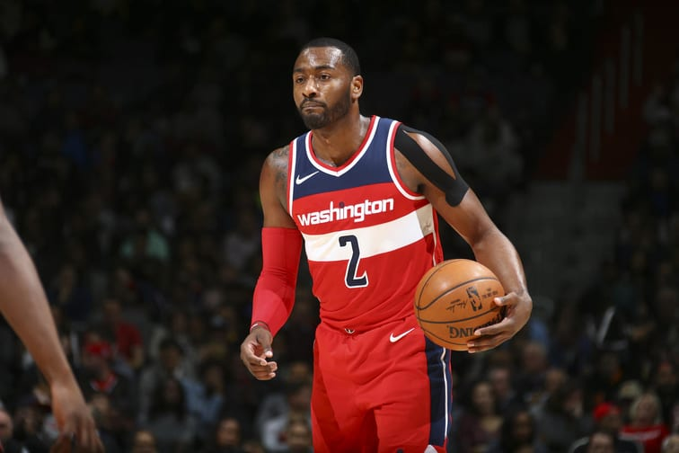 John Wall Pissed Off With Teammate As Wizards Go On Run Without Him