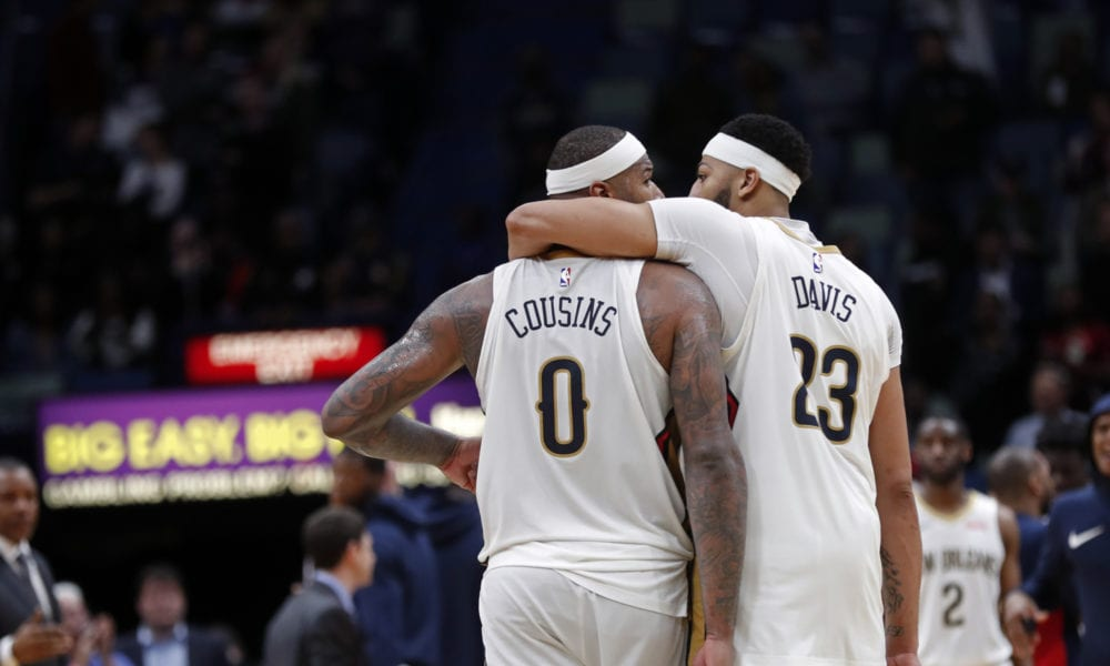 Anthony Davis Says Pelicans Could Have Made The Finals If DeMarcus Cousins Was Healthy