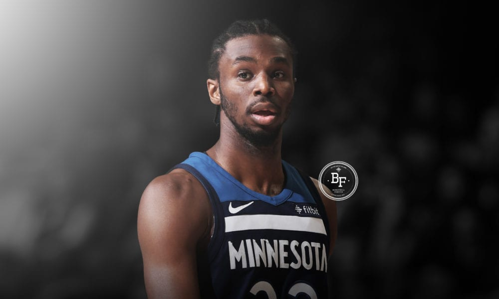 Andrew Wiggins Reportedly Unhappy Being Third-Wheel On The Timberwolves
