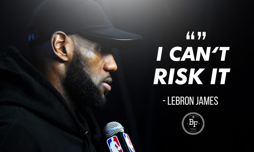 LeBron James Announces Retirement In Wake Of Patrick McCaw's Injury