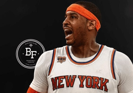 The Night Carmelo Anthony Dropped 50 On Miami Without Entering The Paint