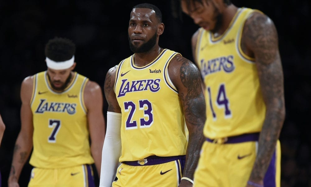 Lakers Disjointed And Defeated In LeBron James' Debut