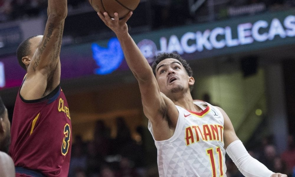 Trae Young's Coming Out Party – Leads Atlanta To Its First Win