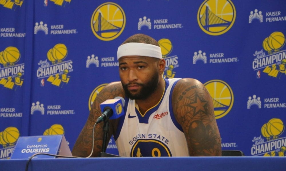 Steve Kerr Says Warriors Will Use DeMarcus Cousins In 'David West Role'