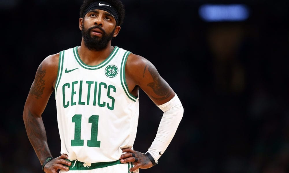 Kyrie Irving Insists He's Cool With Huge Drop In Scoring