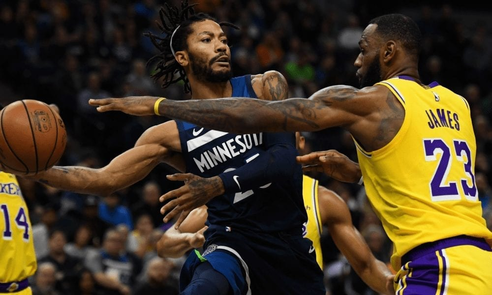Derrick Rose Found Playing With LeBron James 'Super Awkward'