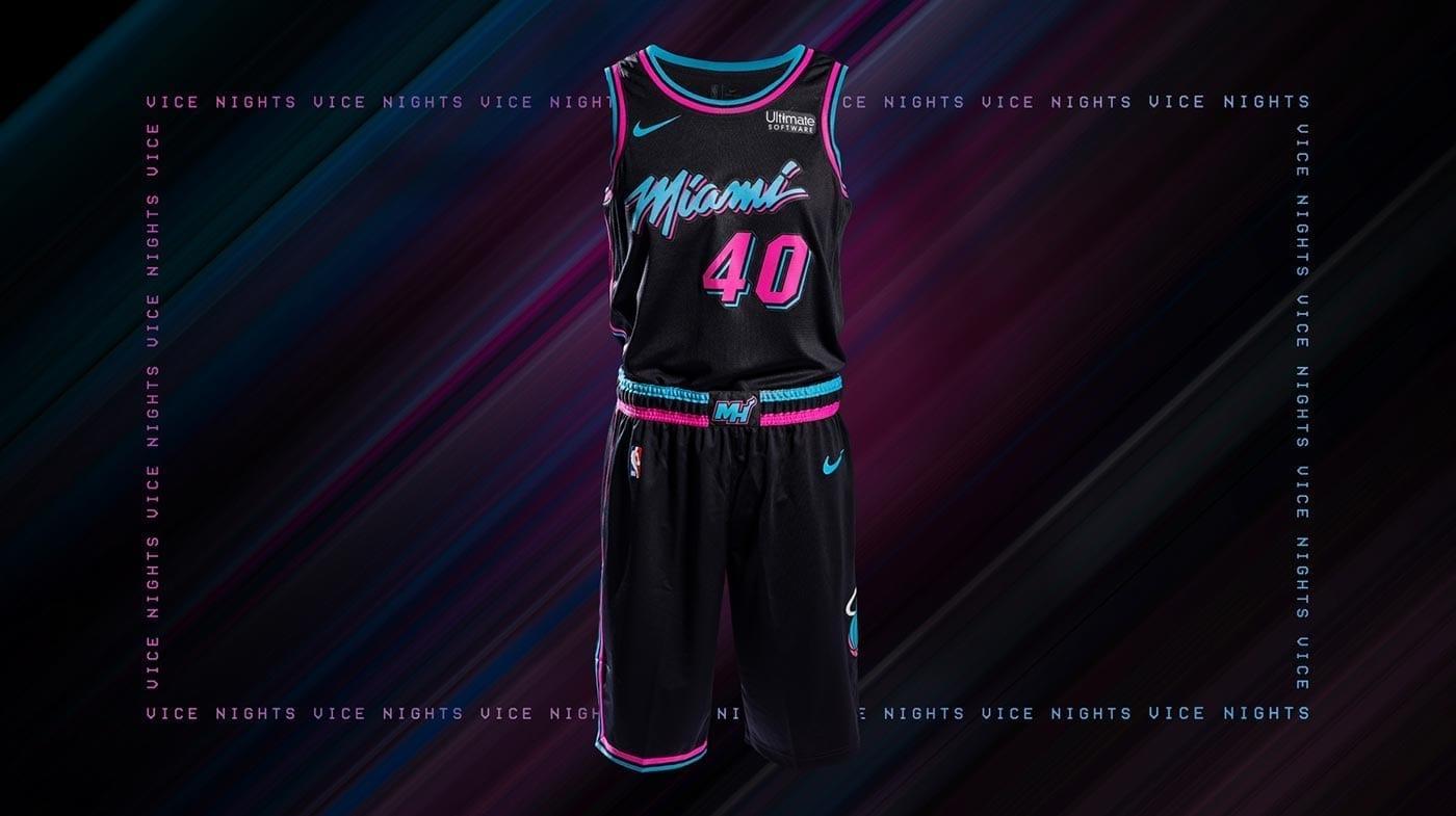 Miami Heat Reveals Fire New Miami Vice Uniforms