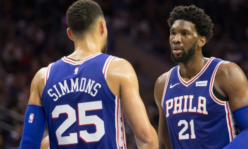 Joel Embiid And Ben Simmons React To Jimmy Butler Trade
