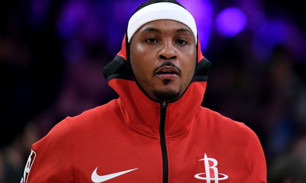 Houston Rockets 'Discussing' Carmelo Anthony's Role
