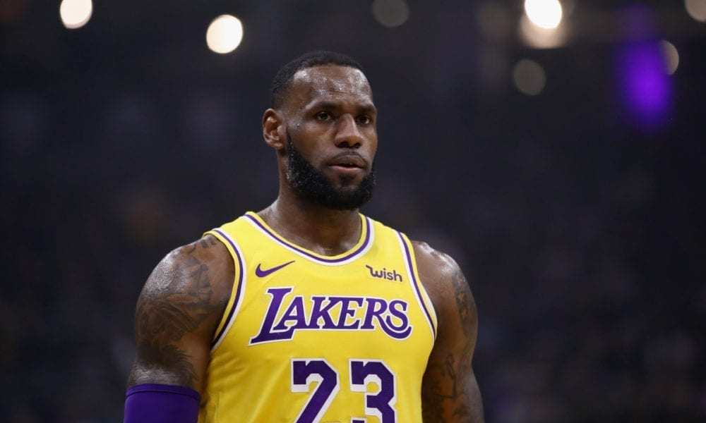 LeBron James Awkwardly Avoids Carmelo Anthony Lakers Question
