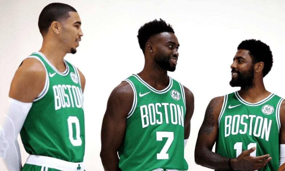 Kyrie Irving Explains Struggles Of Jayson Tatum and Jaylen Brown