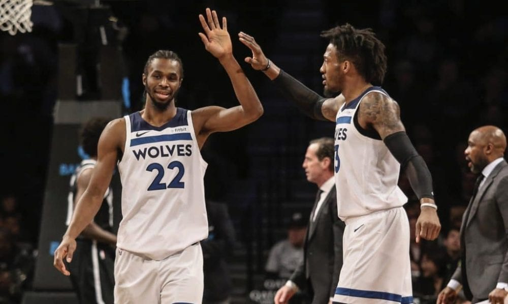How Robert Covington Is Trying To Get Andrew Wiggins And Karl-Anthony Towns Locked In