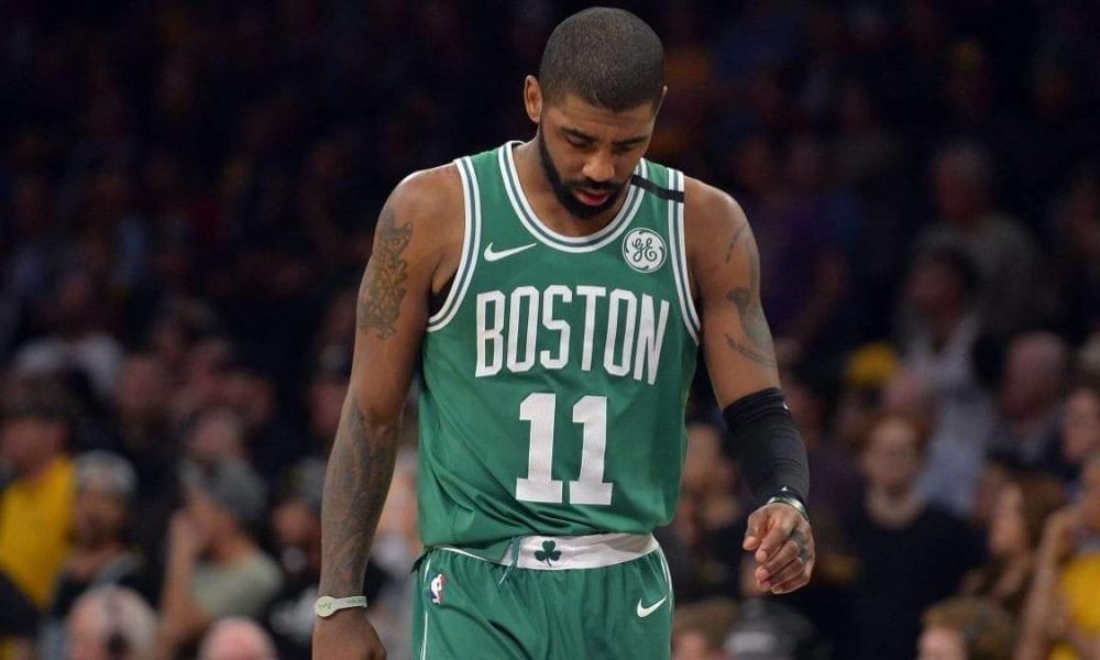 Kyrie Irving Says Celtics Close To 'Rock Bottom'