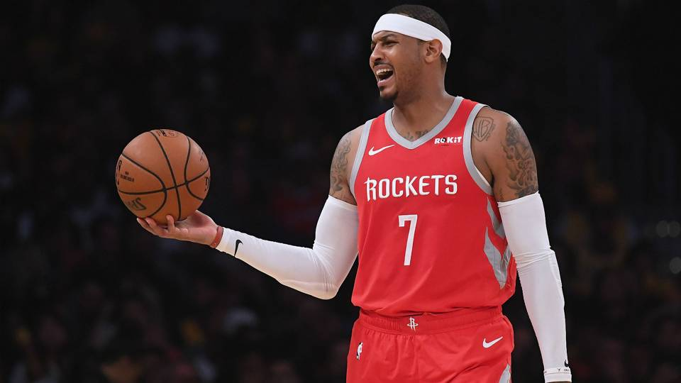 carmelo anthony houston rockets basketball forever