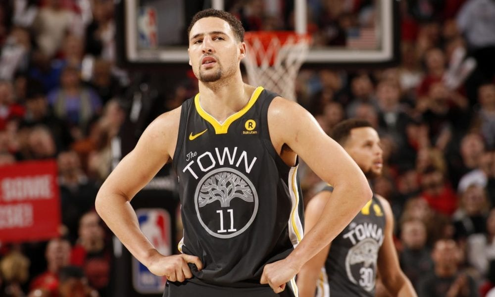 Klay Thompson Laughs At Cavs For Their Pettiness After Winning 2016 Championship
