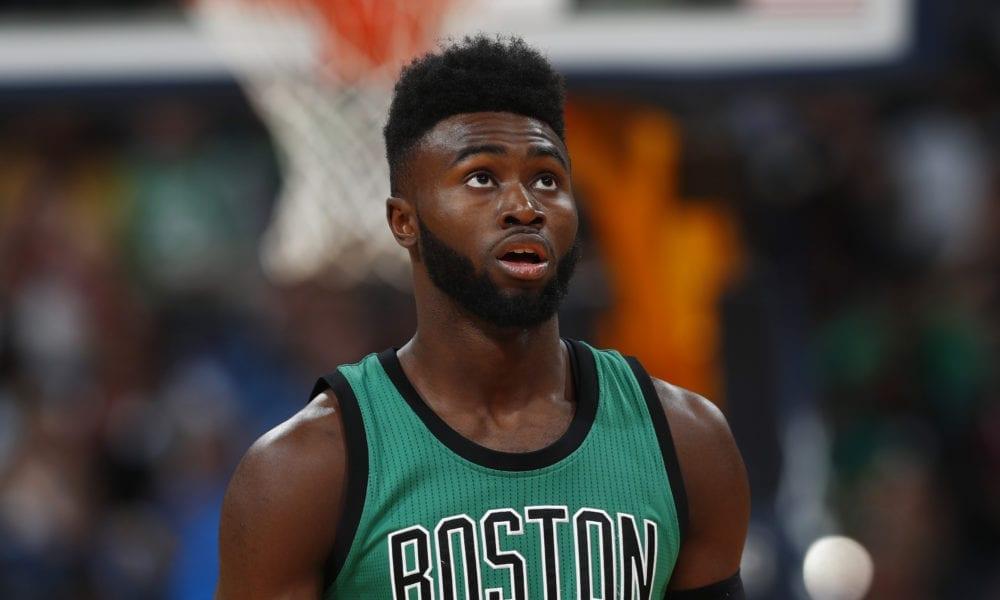 jaylen brown boston celtics basketball forever