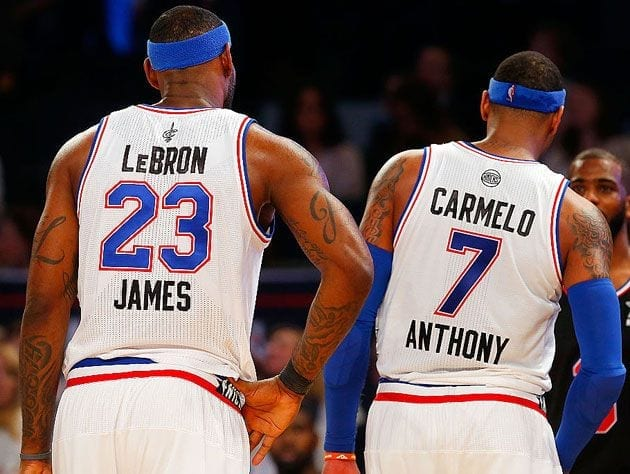 LeBron James Wants Carmelo Anthony To Join The Lakers – Report