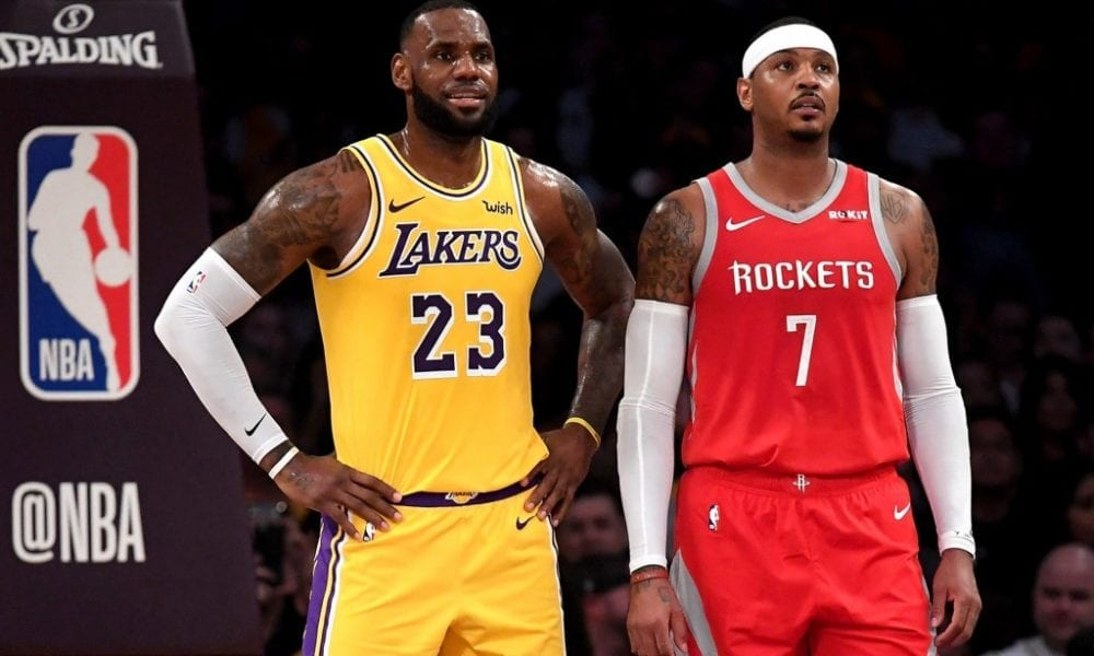 Lakers Have 'No Interest' In Signing Carmelo Anthony – Report