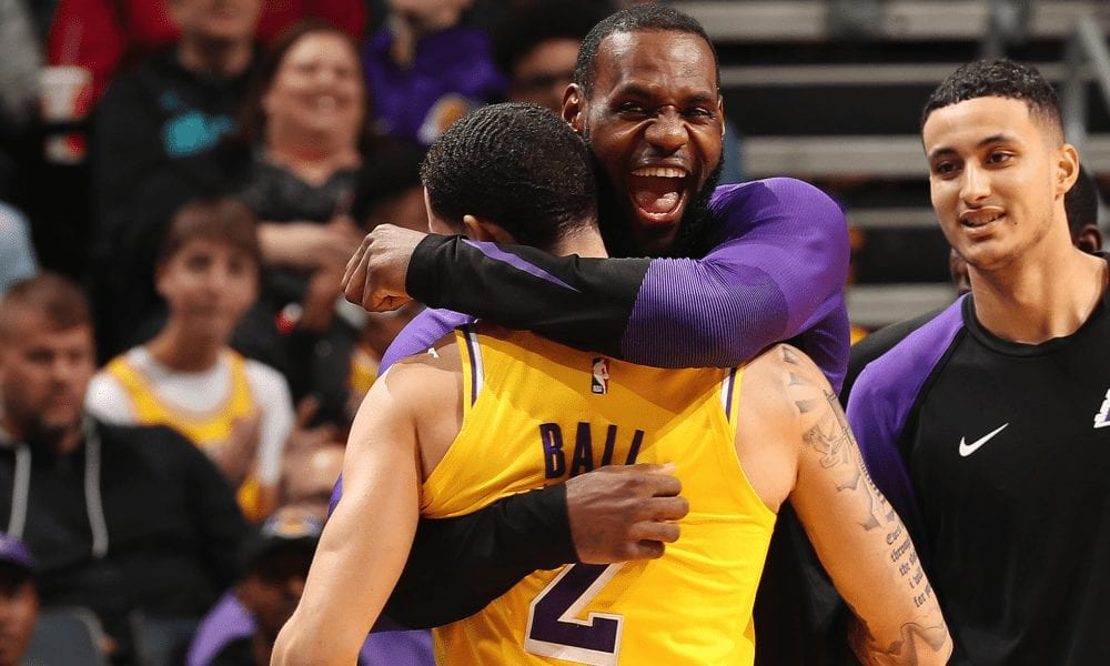 LeBron James And Lonzo Ball Discuss Their Shared Triple-Double Night