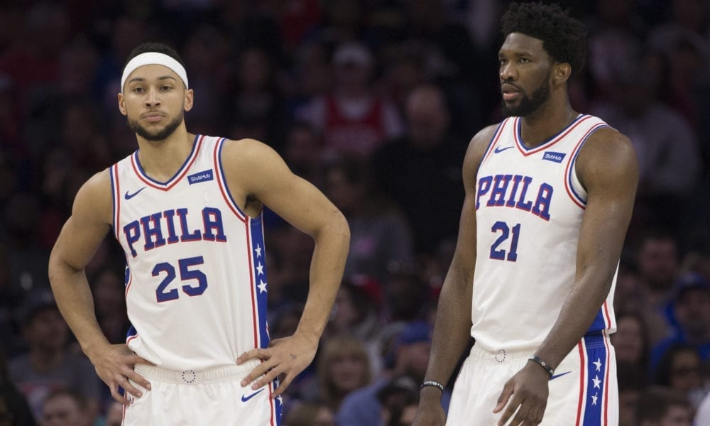 Joel Embiid Addresses Ben Simmons Elbowing Him In The Face