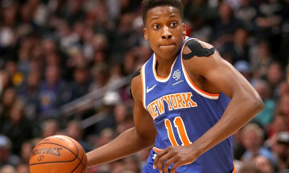 Why Frank Ntilikina Thought It Was 'Funny' To Dunk On Rudy Gobert