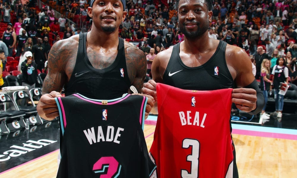 Dwyane Wade 'Humbled' To Learn He Inspired Wizards' Bradley Beal