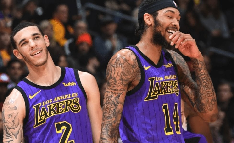 brandon ingram lonzo ball basketball forever