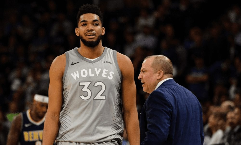 Karl-Anthony Towns Reacts To Firing Of Tom Thibodeau