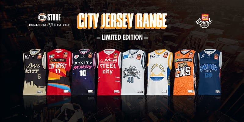 First Ever Brings Touch Of NBA To Australia With Release Of NBL 'City Jerseys'
