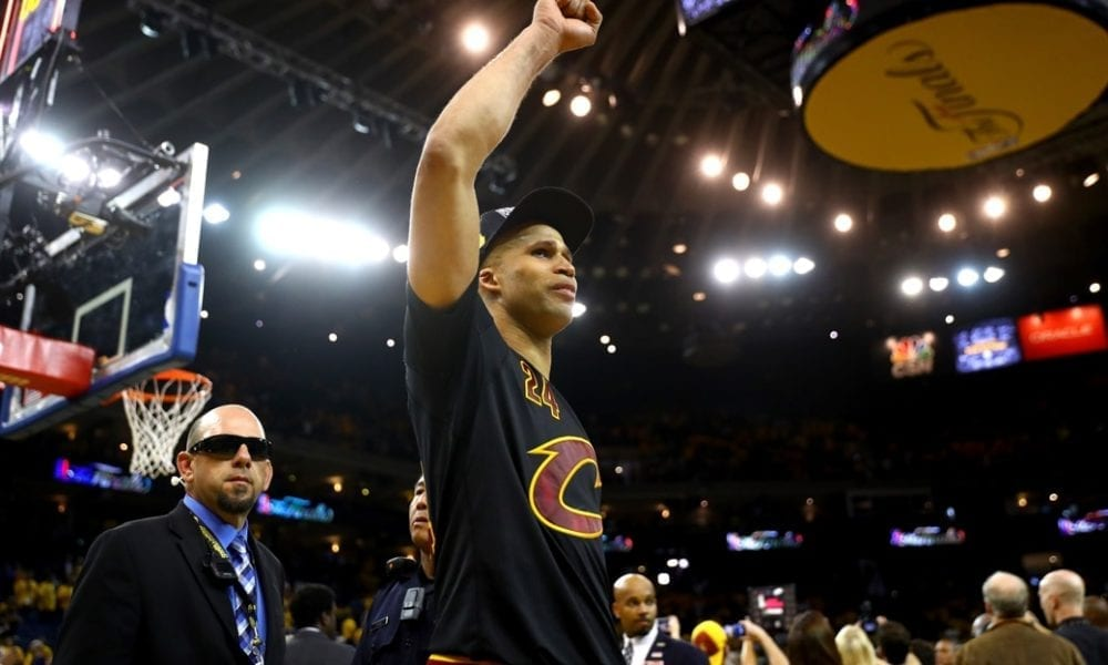 Richard Jefferson Opens Up About Cleveland's 2016 Title: 'Worth Crying Over'