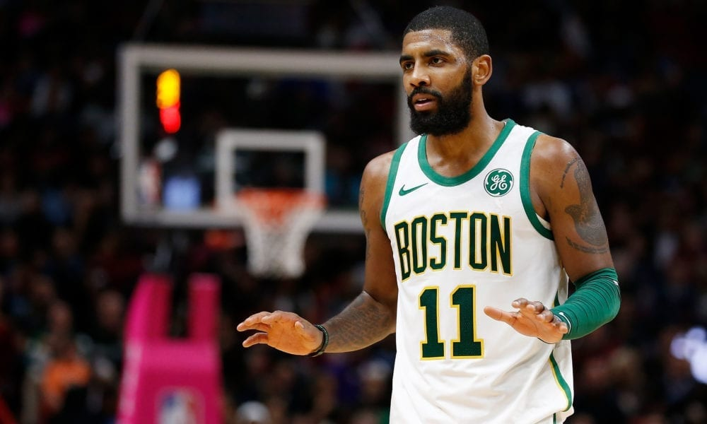 Kyrie Irving Explains Why He Blasted Gordon Hayward Following Loss