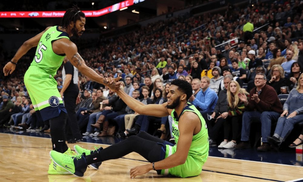 Derrick Rose Helped Karl-Anthony Towns Through Jimmy Butler Fiasco