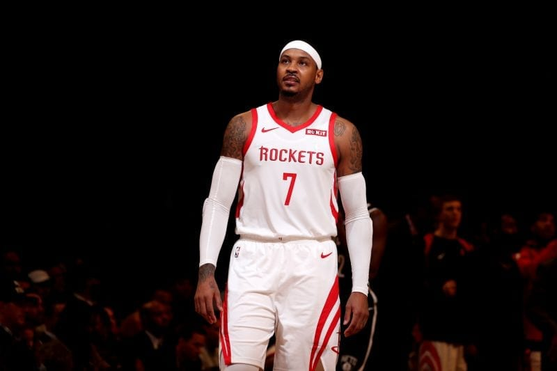Rockets Trying To Trade Carmelo Anthony To Get Kenneth Faried