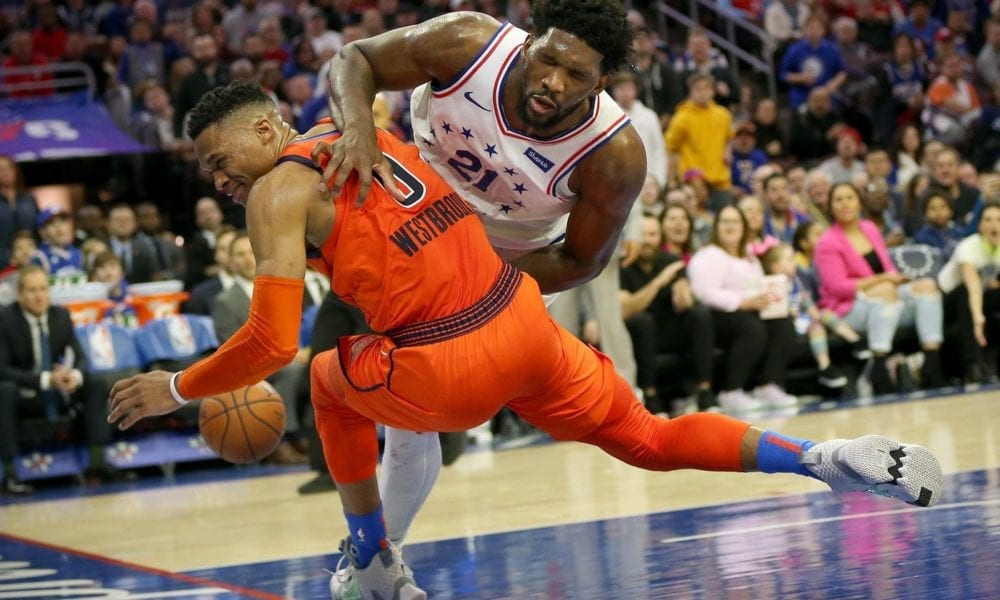A Brief History Of The Russell Westbrook-Joel Embiid Beef