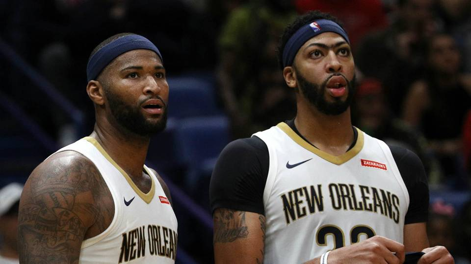 DeMarcus Cousins On Being Split From Anthony Davis: 'It's F–ked Up'