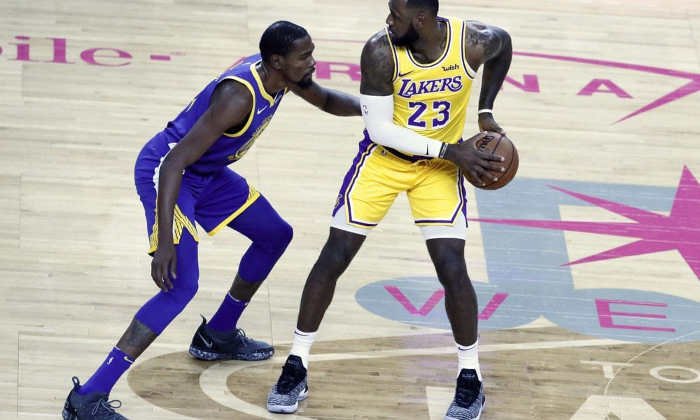 Kevin Durant Says Lakers Will Be 'Team To Be Reckoned With' Once LeBron James Returns