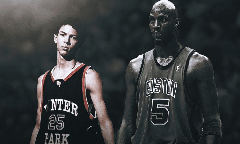 Kevin Garnett Recalls The Time A Teenaged Austin Rivers Challenged Him 1-on-1