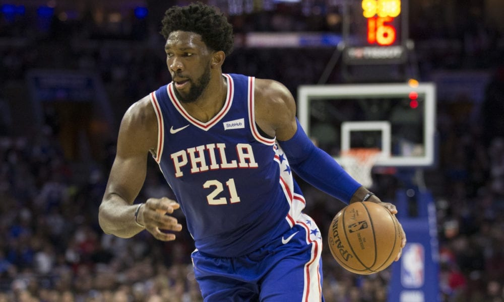 Joel Embiid: 'I Don't Get Disrespected. I Do The Disrespecting'