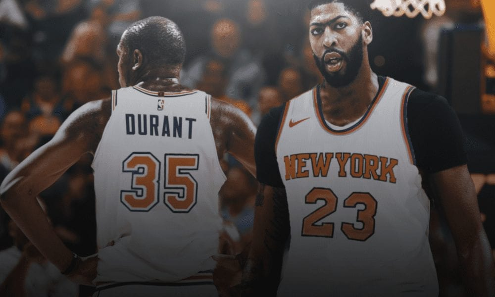 Anthony Davis Open To Joining Knicks If They Land Kevin Durant