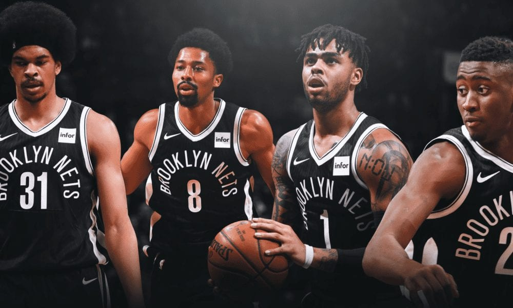 brooklyn nets d'angelo russell basketball forever